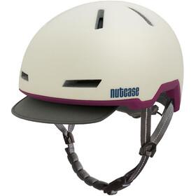 Nutcase Tracer casco per bici bianco